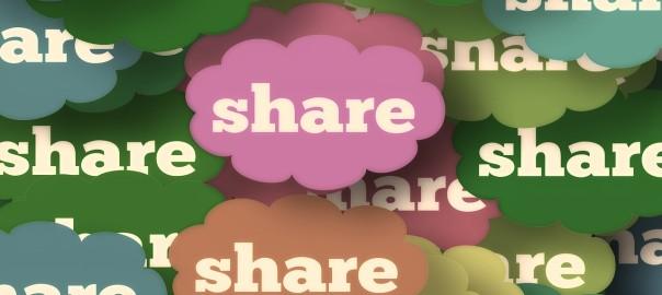 Social Media-Wolken