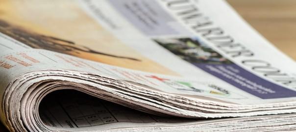 einzelne Zeitung
