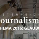 Logo Österreichische Journalismustage