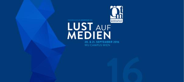 Österreichischen Medientage 2016