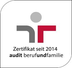 staatlichen Gütezeichen für Familienfreundlichkeit im Beruf